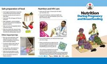 Facility IYCF Brochure: Maternal Nutrition
