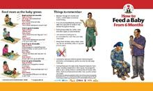 Facility IYCF Brochure: How to Feed a Baby After 6 Months