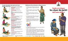 Community IYCF Brochure: How to Feed a Baby After 6 Months (Hausa)
