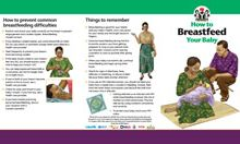 Community IYCF Brochure: How to Breastfeed Your Baby