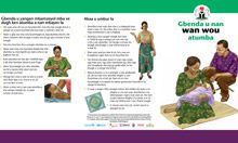 Community IYCF Brochure: How to Breastfeed Your Baby (Tiv)