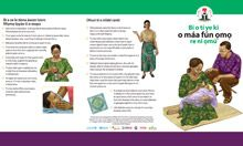 Community IYCF Brochure: How to Breastfeed Your Baby (Yoruba)